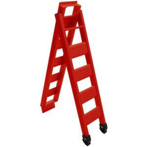 Cross Pro Folding Bike Ramp - Red