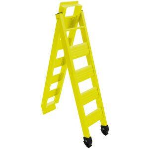 Cross Pro Folding Bike Ramp - Yellow