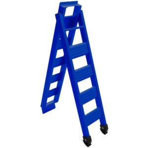 Cross Pro Folding Bike Ramp - Blue