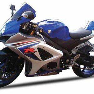 SUZUKI GSX-R1000 2008 BLUE