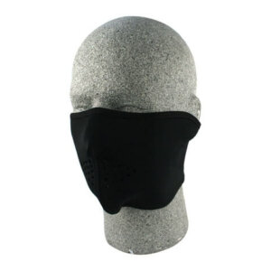 zan headgear neoprene half mask black