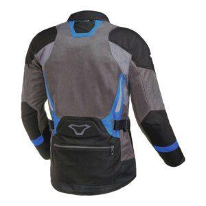 Macna Aerocon Jacket Blk-Gry-Blu back