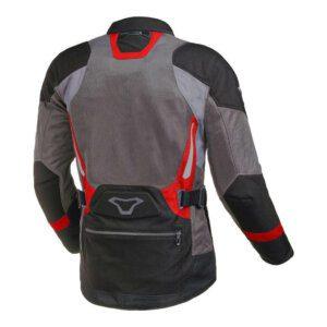 Macna Aerocon Jacket Blk-Gry-Red Back
